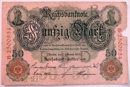 50 Marek 1908