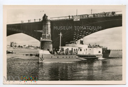 W-wa - III Most - Poniatowskiego - lata 1950-te