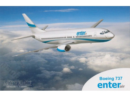 Boeing 737-400, SP-EN? Enterair