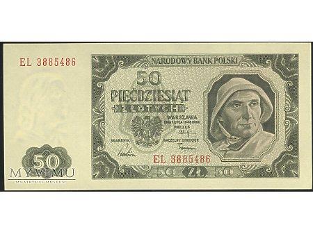 50 zł 1948 r.