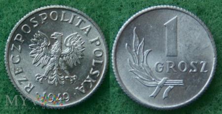 1949, 1 grosz