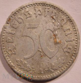 Duże zdjęcie 50 Reichspfennig 1942 A - Berlin