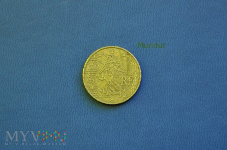 Moneta: 10 euro cent - Francja