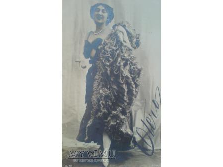 1903 Caroline OTERO ostatnia wielka kurtyzana