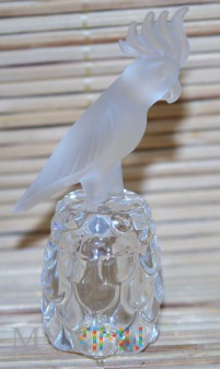 Naparstek Swarovski-papuga kakadu