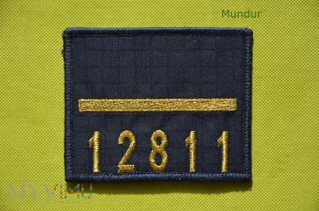 Oznaka stopnia MW - starszy marynarz z numerem okr