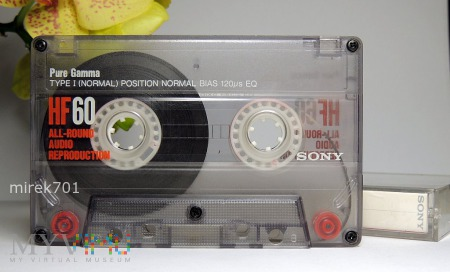 Sony HF60 kaseta magnetofonowa