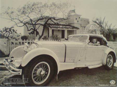 Duże zdjęcie Lilian Harvey i Mercedes Benz SS Sport 1932