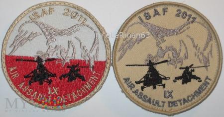 SGPSz PKW ISAF Afganistan IX zmiana.