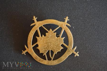 Pamiątkowa odznaka - Rezerwa - Jesień 87 - 89