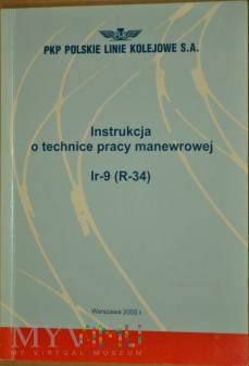 Duże zdjęcie 2005 - Instrukcja o technice pracy man. Ir-9 (R-34