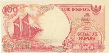 INDONEZJA 100 RUPII 1992