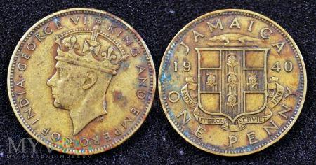 Jamajka, 1 penny 1940