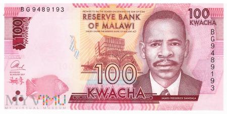 Malawi - 100 kwacha (2017)