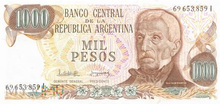 Argentyna - 1 000 pesos (1982)