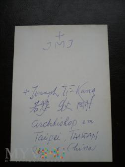 Arcybiskup Joseph Ti-kang