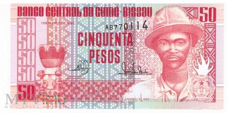 Gwinea Bissau - 50 pesos (1990)