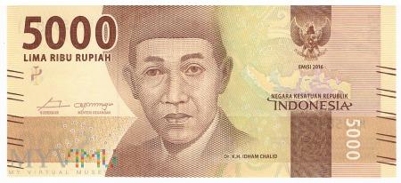Indonezja - 5 000 rupii (2017)
