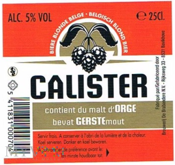 calister
