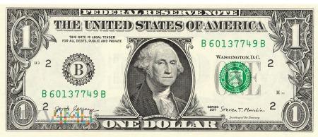 Stany Zjednoczone - 1 dolar (2017)