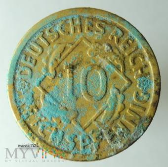 10 Reichspfennig 1929 D