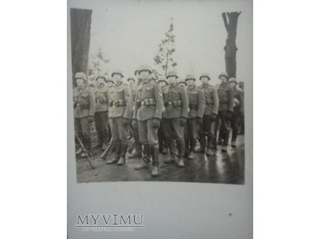 Kolumna niemieckich wojsk