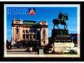Magnes z pomnikiem księcia Michailo w Belgradzie