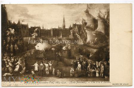 Bredael - Impreza w Antwerpii - pocz. XX w.