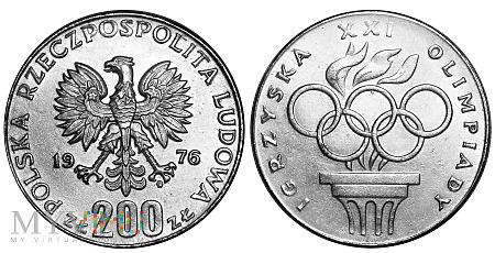 Duże zdjęcie 200 złotych, 1976, fałszerstwo