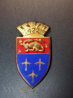 Odznaka 422 Pułku Artylerii Przeciwlotniczej