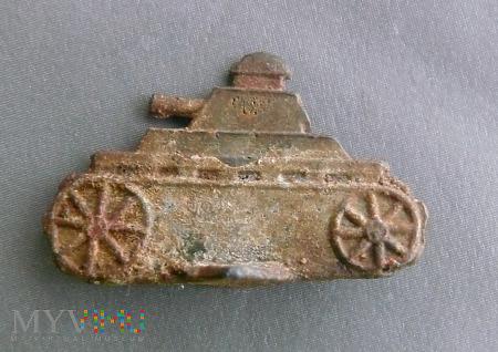 Figurka czołgu