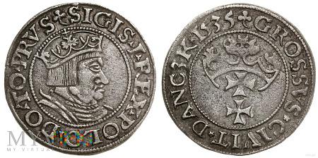 Zygmunt I Stary grosz gdański