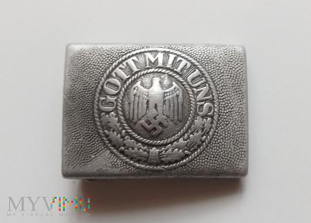 Klamra niemiecka aluminiowa - Wehrmacht
