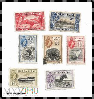 ZNACZKI SIERRA LEONE