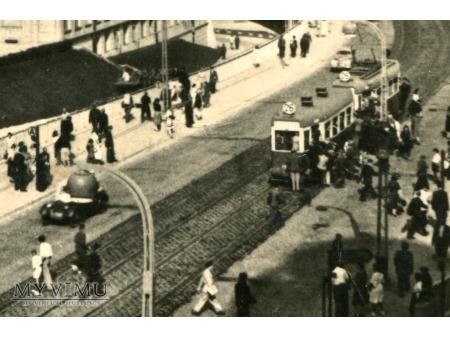 1953 Warszawa Tramwaj linii 26 trasa W-Z
