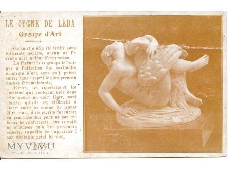 Leda z łabędziem (rzeźba)