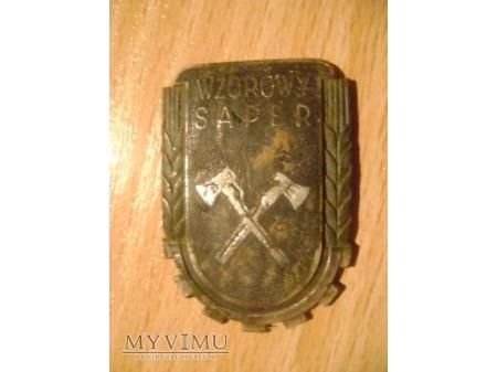 odznaka wzorowy saper wz. 53