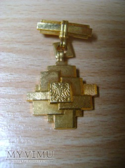 złota odznaka