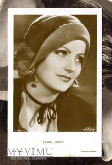 Greta Garbo Verlag Ross 5108/1 Vintage Postcard
