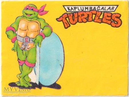 Opakowanie po gumie TURTLES