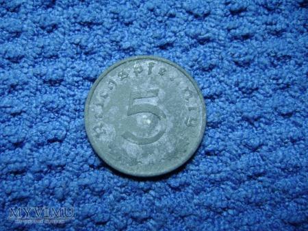 5 pfennig 1940