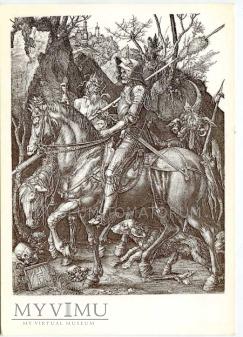 Durer - Rycerz, Śmierć i Diabeł