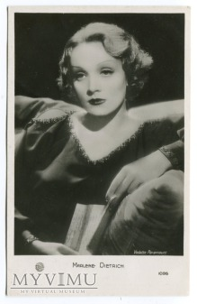 Marlene Dietrich pocztówka EDUG 1096 Francja
