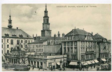 Poznań lata 20-te - Rynek