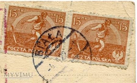 1922 Święty Mikołaj Meissner & Buch Nowy Targ