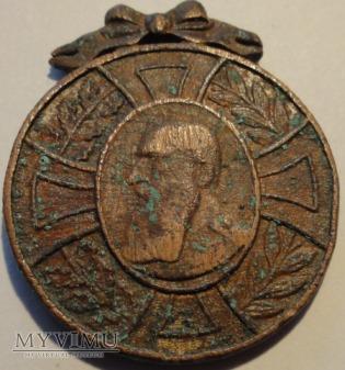 Belgia Leopold II pamiątkowy medal 1865- 1905