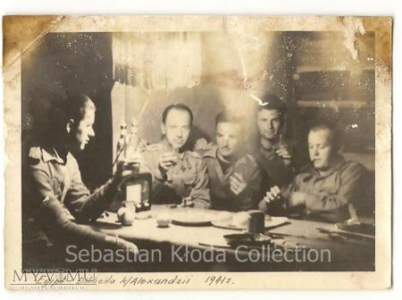 Żołnierze SBSK w obozie Dekheila