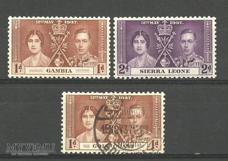 Coronation stamps II