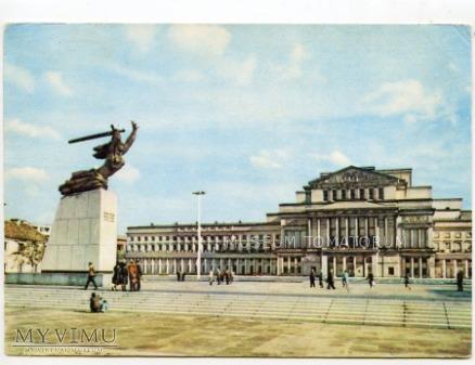 W-wa - pomnik Bohaterów Warszawy - 1966