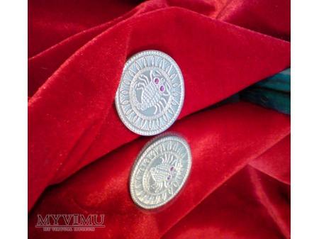 Duże zdjęcie Znak Zodiaku : srebrny Skorpion Białoruś 2009